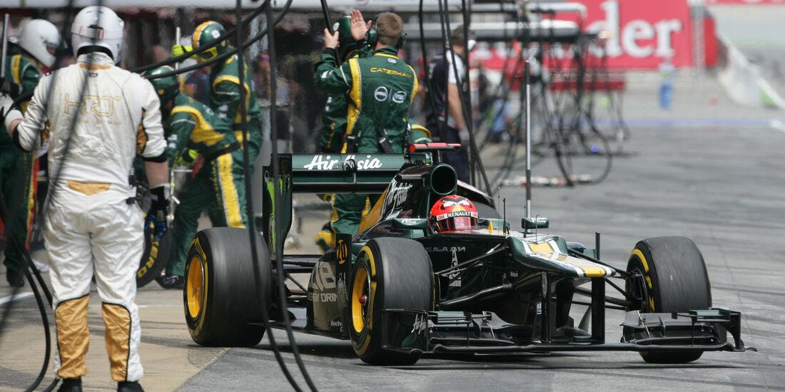 Heikki Kovalainen GP Spanien 2012