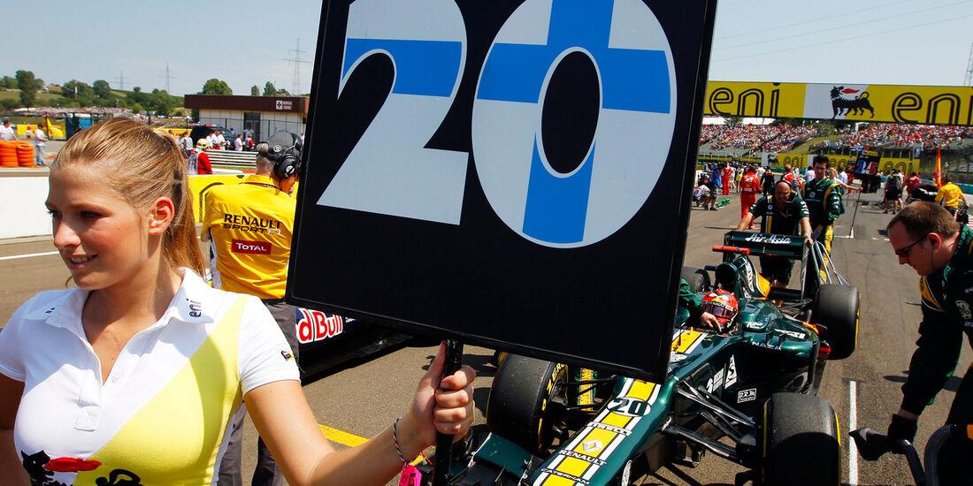 Heikki Kovalainen GP Ungarn 2012
