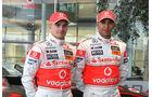 Heikki Kovalainen & Lewis Hamilton - McLaren - 2009