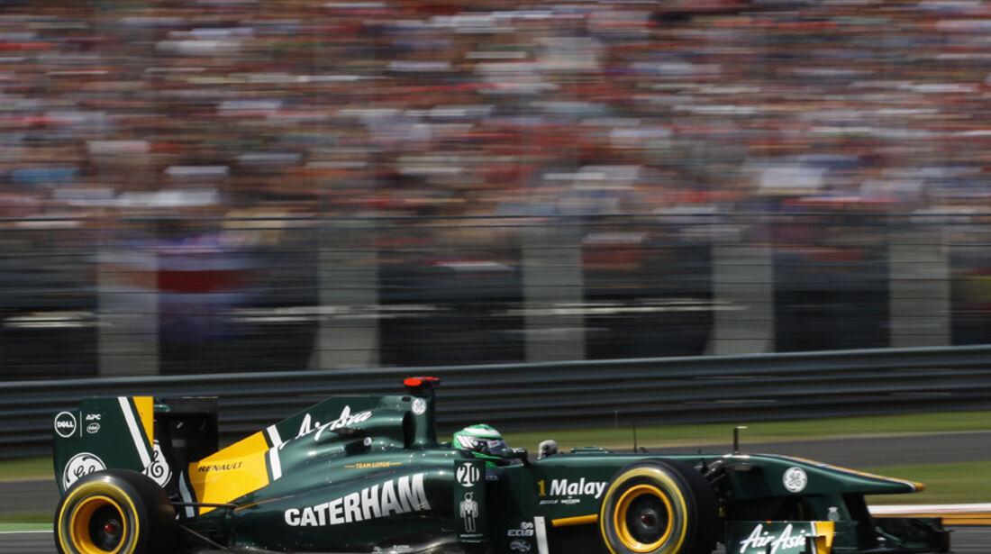 Heikki Kovalainen Lotus GP Italien 2011