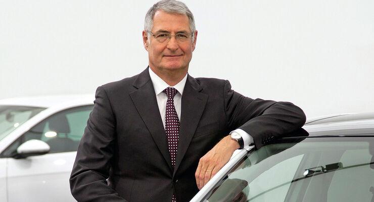Heinz-Jakob Neußer, Entwicklungsvorstand Volkswagen