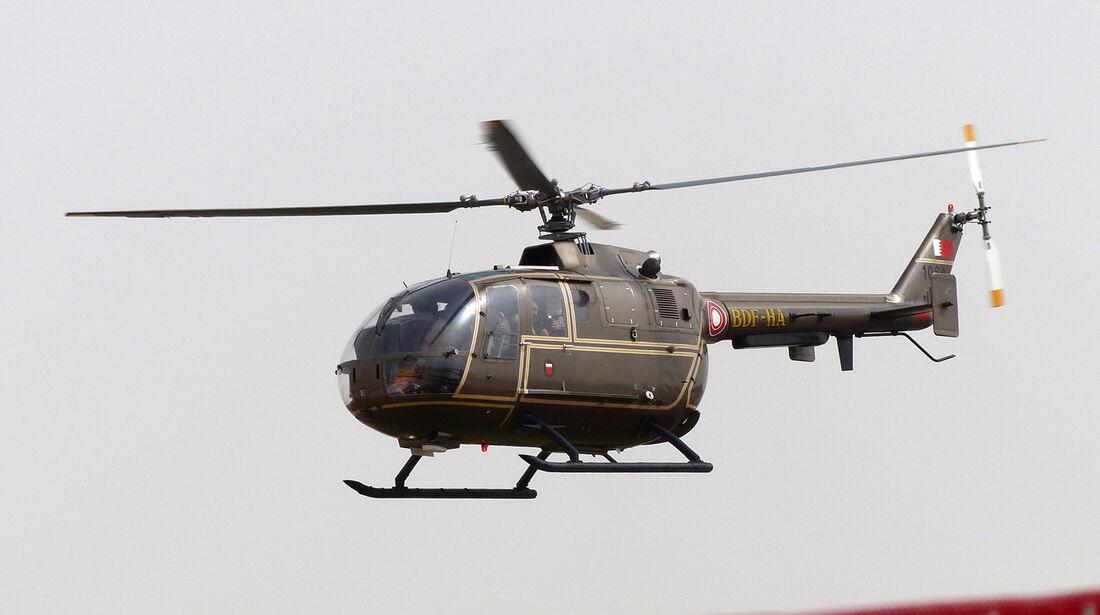 Helikopter - Formel 1 - GP Bahrain - Sakhir - 3. April 2014
