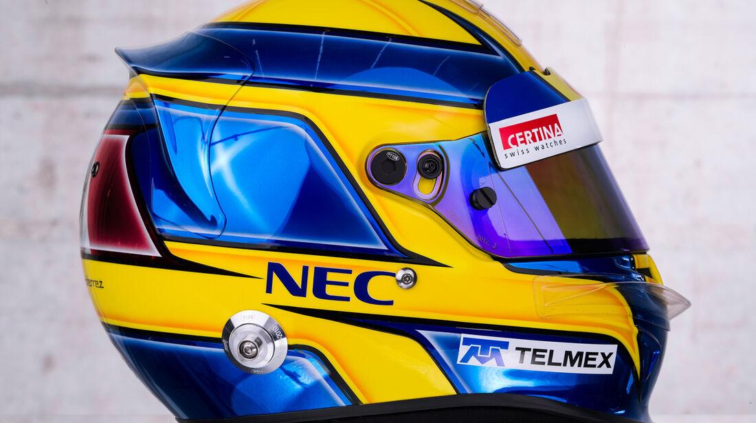 Helm Esteban Gutierrez Sauber 2013