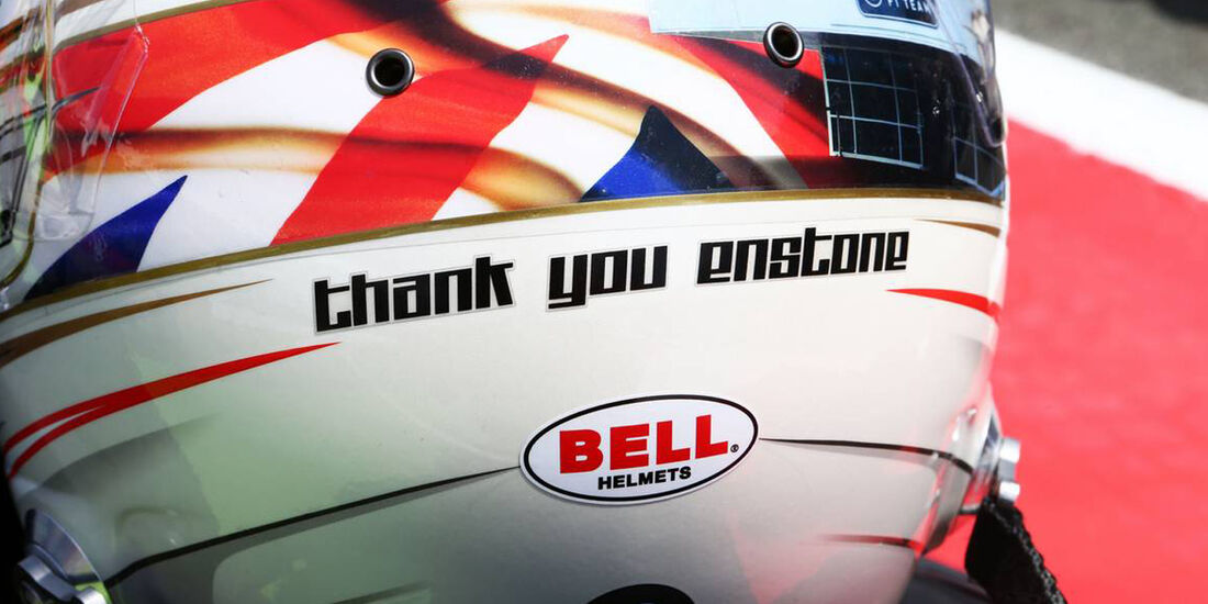 Helm Romain Grosjean  - Formel 1 - GP England - 30. Juni 2013