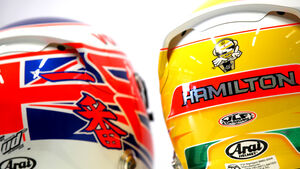 Helme 2012 Hamilton Button