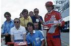 Herbie Blash, Niki Lauda, Sante Ghedini, Bernie Ecclestone, Helmut Zwickl, Max Mosley - GP Südafrika 1978