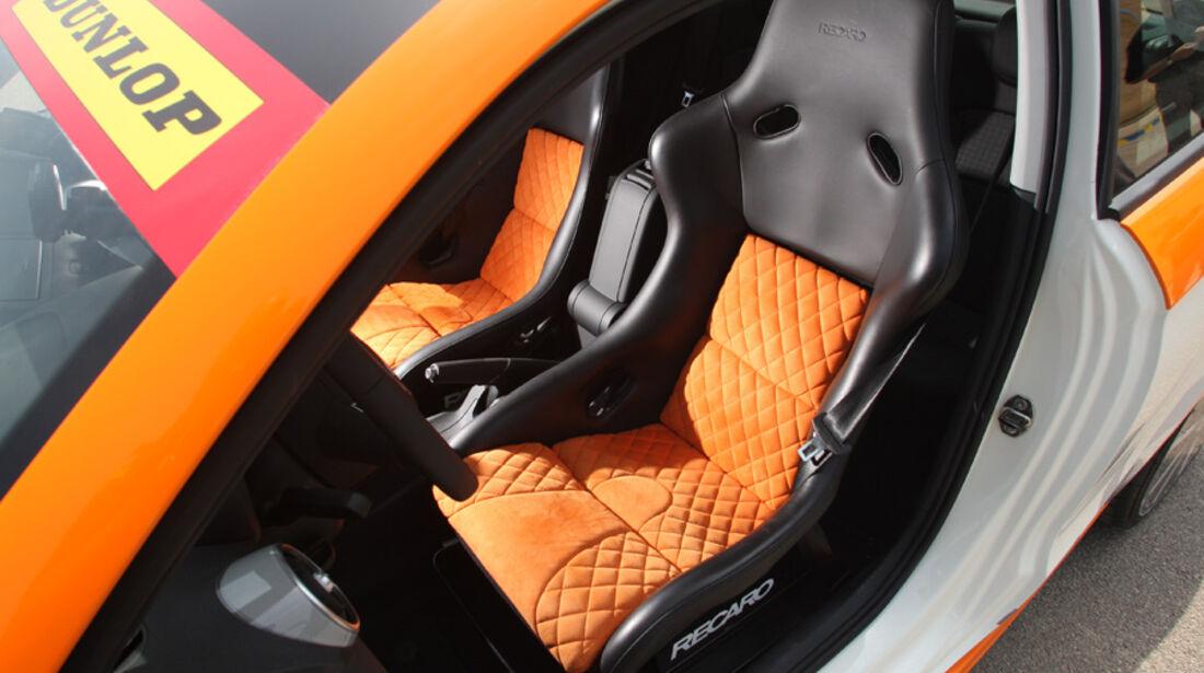 Highspeed-Test, Nardo, ams1511, 391km/h, MTM Audi A1, Fahrersitz