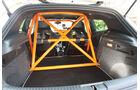 Highspeed-Test, Nardo, ams1511, 391km/h, Mathilda VW Scirocco R, Käfig, Laderaum