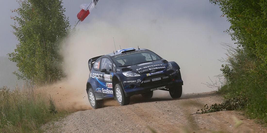 Hirvonen - Rallye Polen 2014