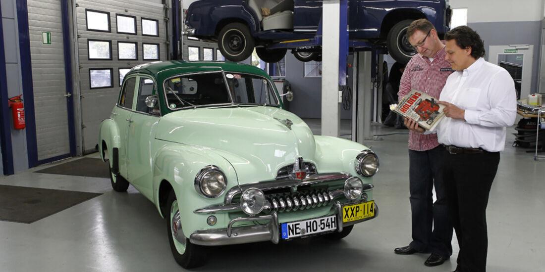 Holden FJ Special Sedan, Werkstatt