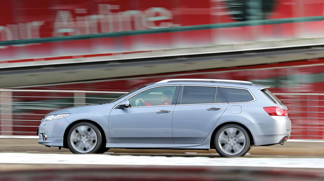 Honda Accord Tourer 2.2i-DTEC, Seitenansicht