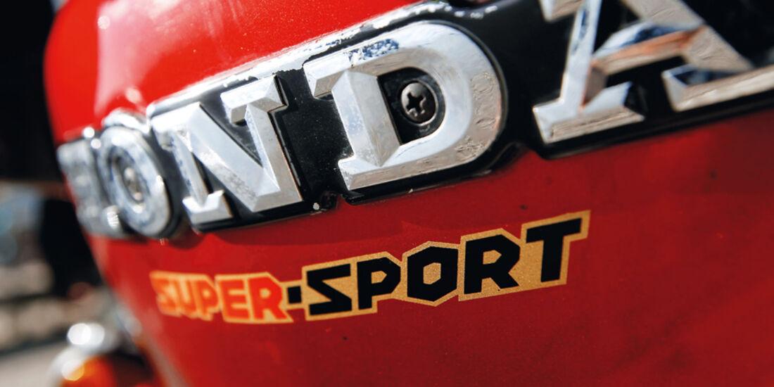 Honda CBX 1000, Emblem, Tank