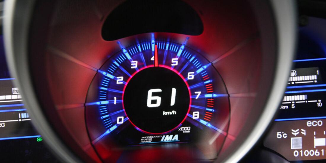 Honda CR-Z Sport, Tacho, Rundinstrument