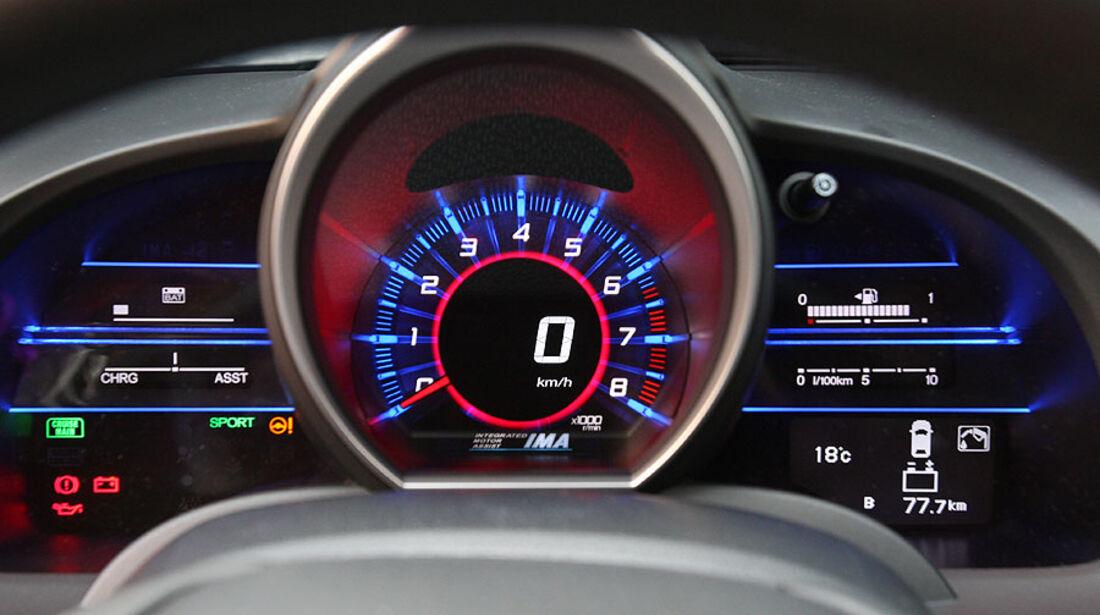 Honda CR-Z, Tachometer