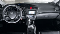Honda Civic 2.2i-DTEC, Cockpit
