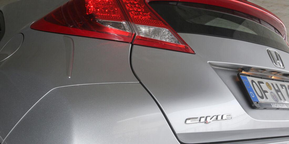 Honda Civic 2.2i-DTEC, Rücklichter