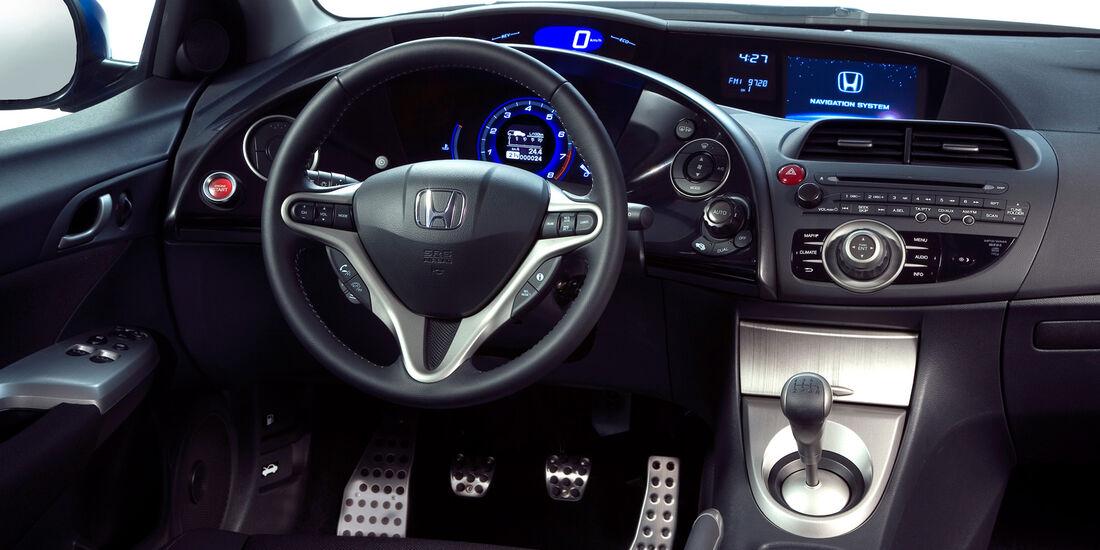 Honda Civic, Interieur