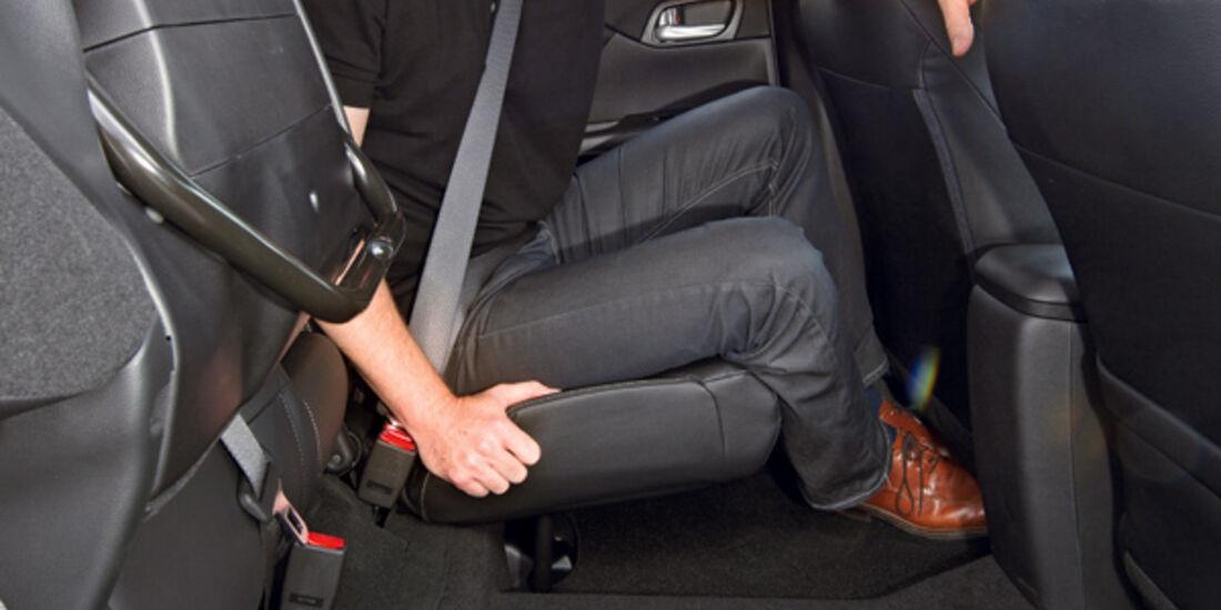 Honda Civic, Rücksitz, umklappbar