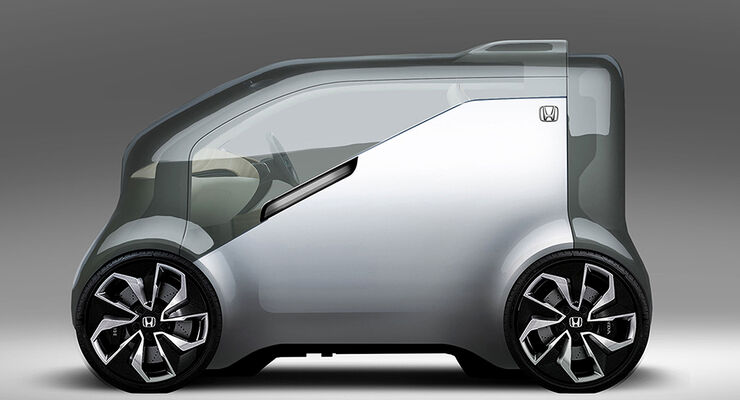 """Honda  """"Cooperative Mobility Ecosystem""""  NeuV"""