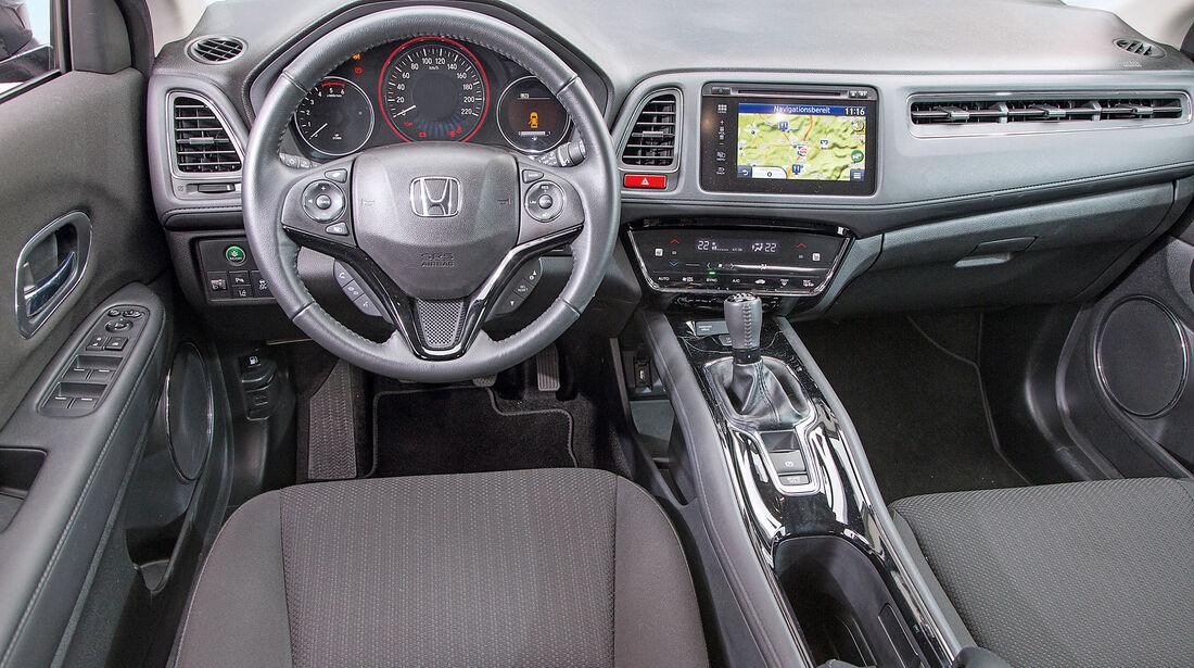 Honda HR-V 1.6 i-DTEC, Cockpit