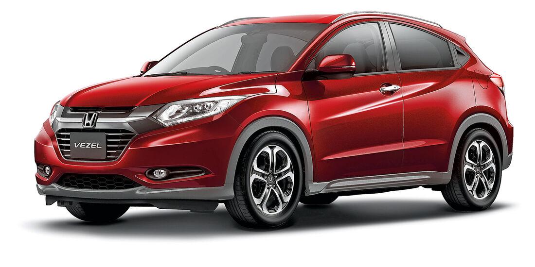 Honda HR-V, Seitenansicht