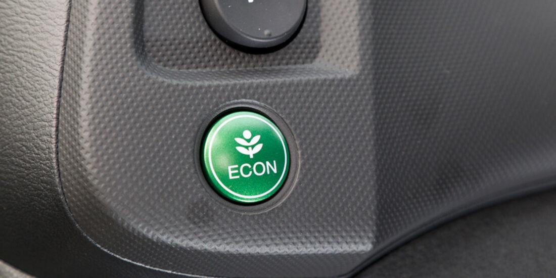 Honda Insight Exclusive, Econ, Bedienelement