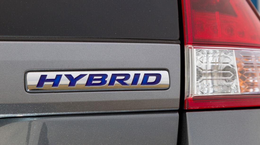 Honda Insight Exclusive, Hybrid, Emblem