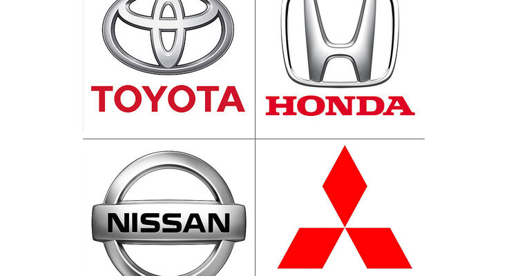 Honda, Mitsubishi, Nissan Toyota Logo
