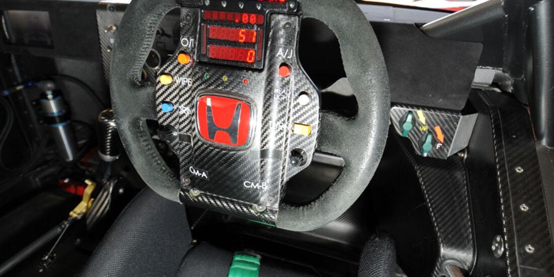 Honda NS-X, Lenkrad