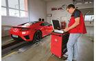 Honda NSX, Leistungsmessung, Prüfstand