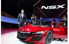 Honda NSX Sitzprobe NAIAS