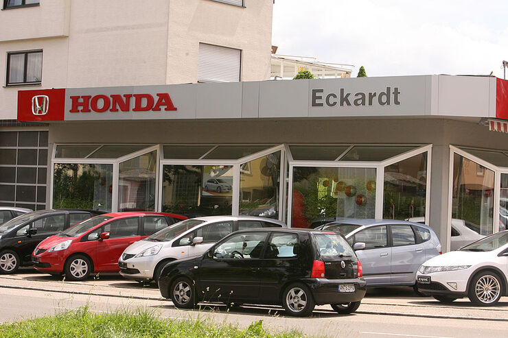 werkst tten test honda 2009 autohaus eckardt seite 9 auto motor und sport. Black Bedroom Furniture Sets. Home Design Ideas