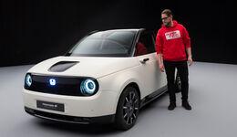 Honda e Prototype Studio 2019