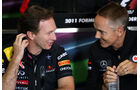 Horner Whitmarsh GP England 2011