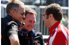 Horner, Whitmarsh und Domenicali