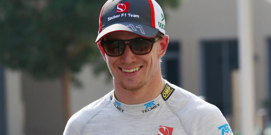 Hülkenberg - GP Abu Dhabi 2013