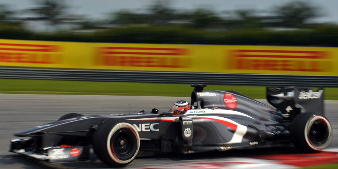 Hülkenberg GP Malaysia 2013