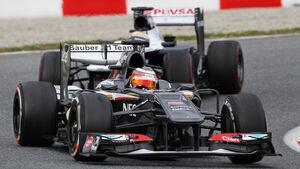 Hülkenberg & Maldonado - Formel 1 - 2013