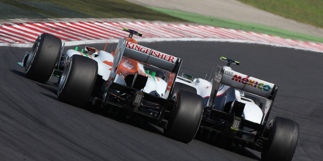 Hülkenberg & Perez GP Ungarn 2012