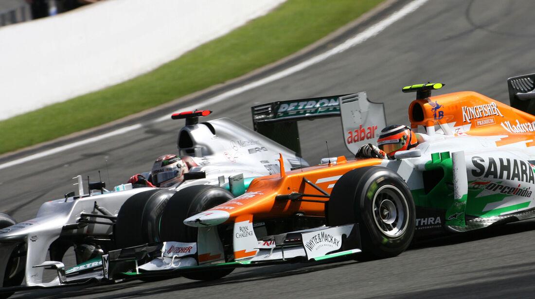 Hülkenberg & Schumacher - GP Belgien 2012