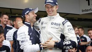 Hülkenberg und Barrichello