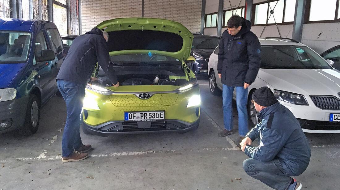 Hyundai Future Leser Test Drive 2019 Kona
