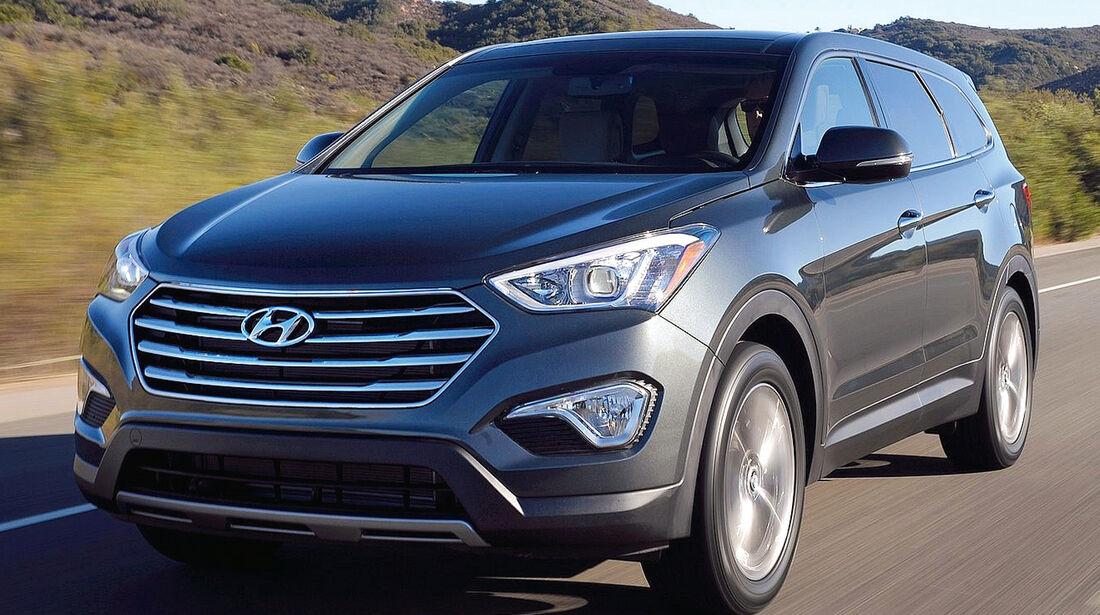 Hyundai Grand Santa Fe, Frontansicht