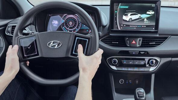 Hyundai HMI Cockpit Zukunft