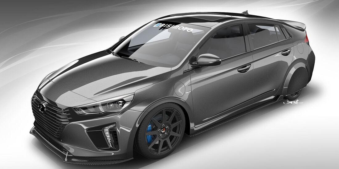 Hyundai HyperEconiq Ioniq Bisimoto