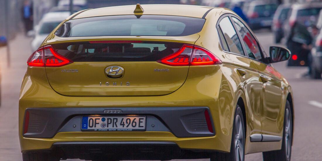 Hyundai Ioniq Elektro, Heckansicht
