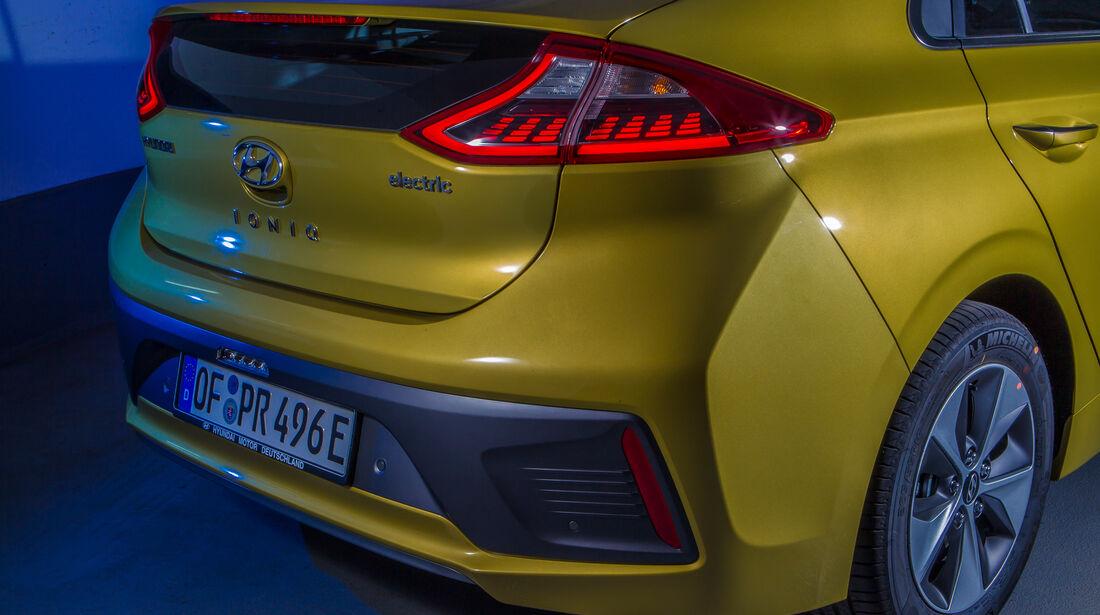 Hyundai Ioniq Elektro, Heckleuchte