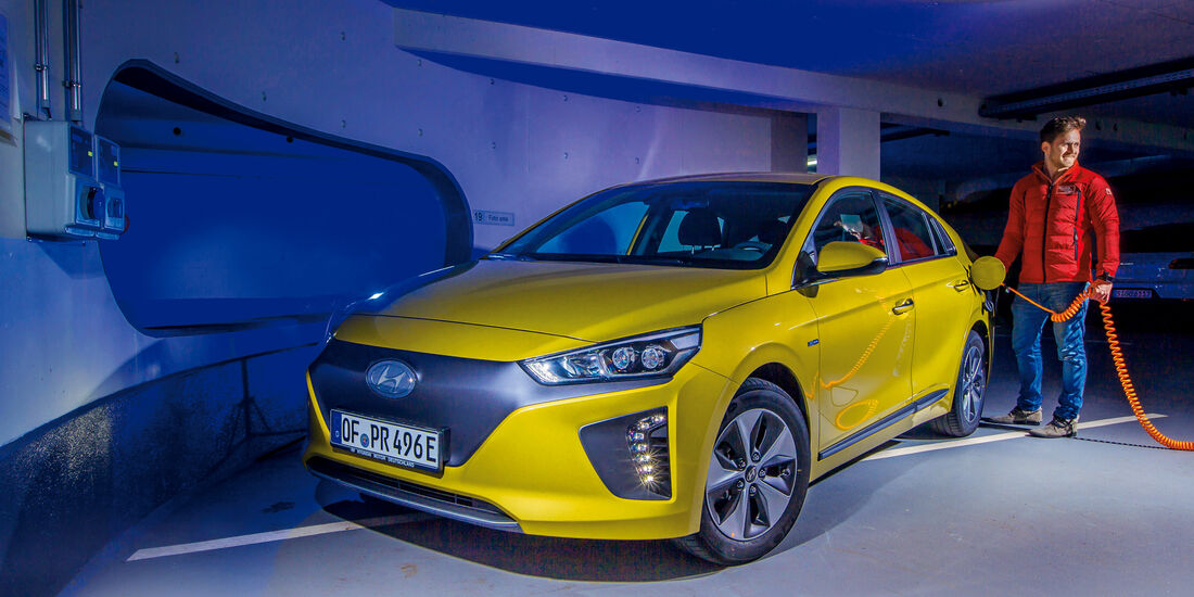 Hyundai Ioniq Elektro, Ladevorgang