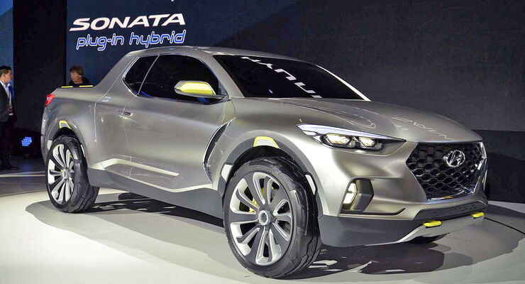 hyundai santa cruz concept abgefahrener crossover pickup. Black Bedroom Furniture Sets. Home Design Ideas