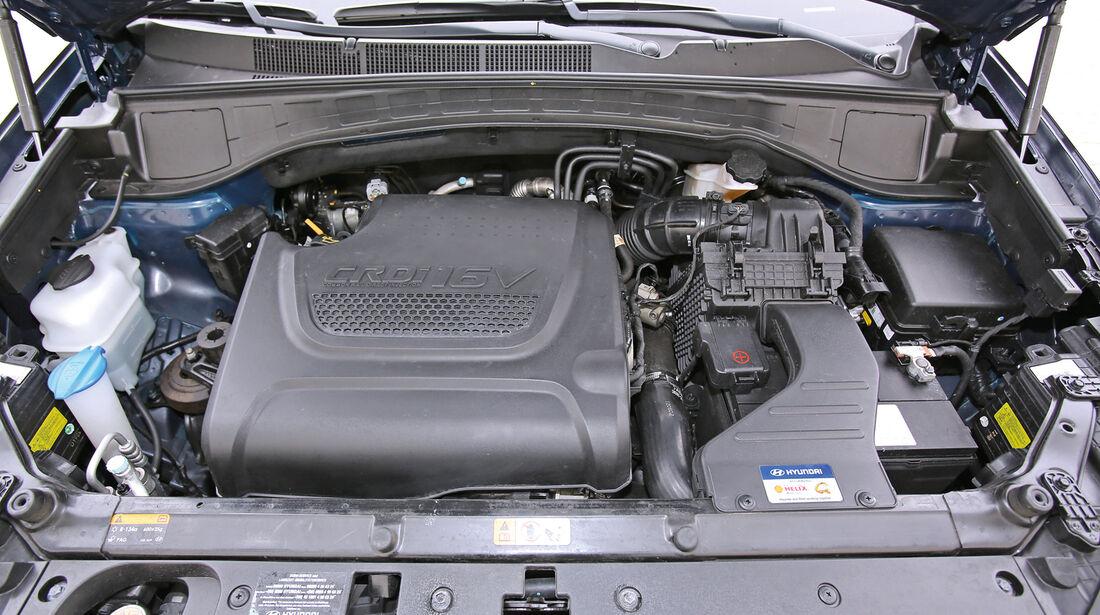 Hyundai Santa Fe 2.2 CR Di 4WD, Motor